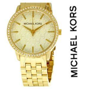 Michael Kors Women's Glitz Wrist Watch NiB
